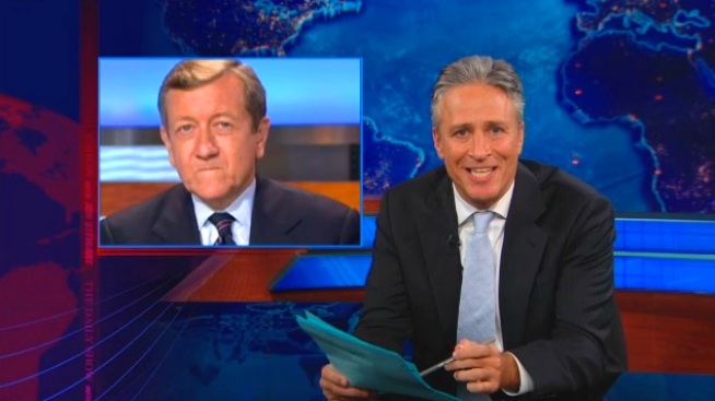 Jon Stewart Blasts Brian Ross for Tea Party Mix-Up