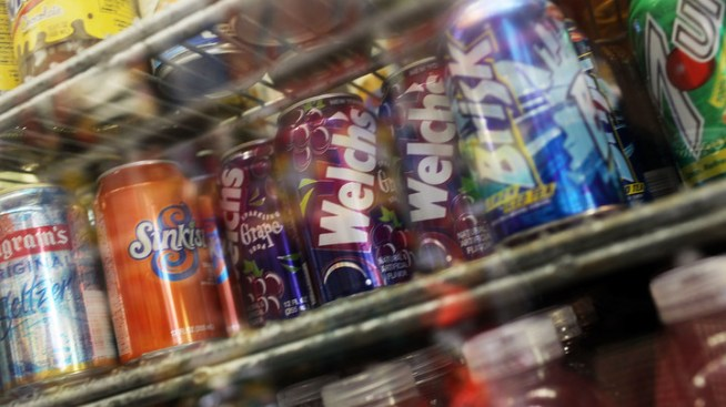 "State Considers ""Soda Tax"""