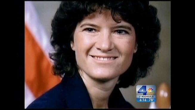 Throughout her life physicist and astronaut Sally Ride supported many science and technology groups, but never publicly supported gay and lesbian issues. Few people knew about her personal life, including her battle with pancreatic cancer and 27-year relationship with Tam O'Shaughnessy. Craig Fiegener reports from Riverside for NBC4 News at 5 p.m. on July 26, 2012.