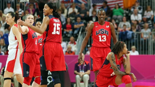 U.S. Women's Basketball Eases Past China