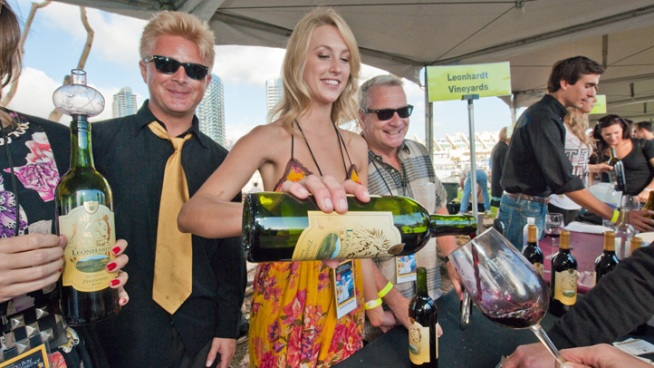 Having a Blast at SD Bay Wine & Food Fest