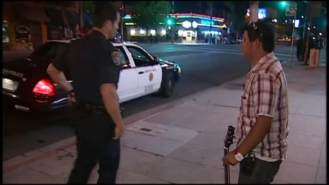 Daniel Tonelli talks to NBC 7 about how a man offering to buy his guitar quickly turned into a man who wanted to steal his guitar.