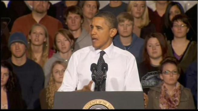 President Obama announced a student loan relief program as he completed a trip to the western states