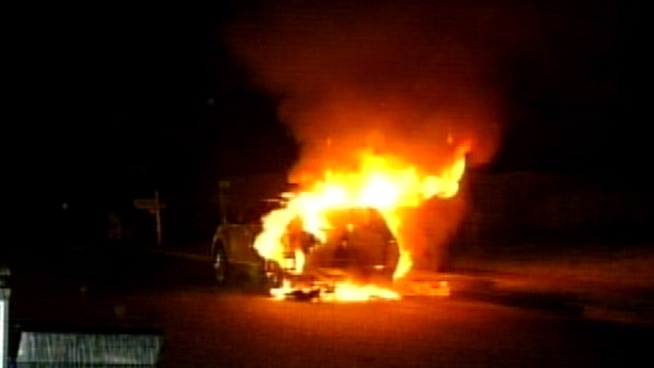 German Man Admits Torching 100 Cars - Out of Envy