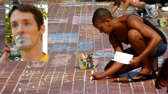 Man Tried for Chalk Drawings Found Not Guilty