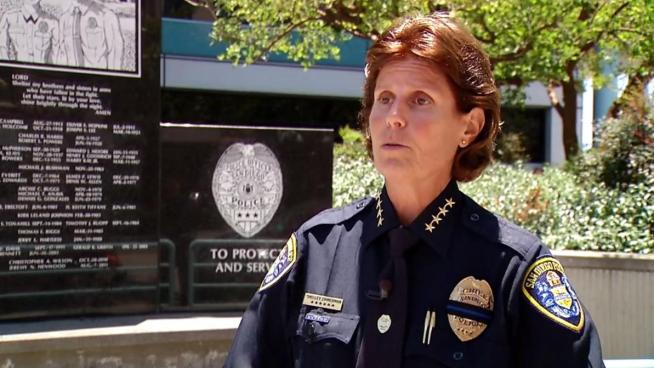 Chief Shelley Zimmerman was just promoted to Chief of Police on March 4, 2014