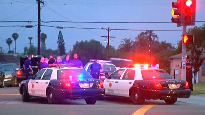 Police Chase in City Heights | NBC 7 San Diego