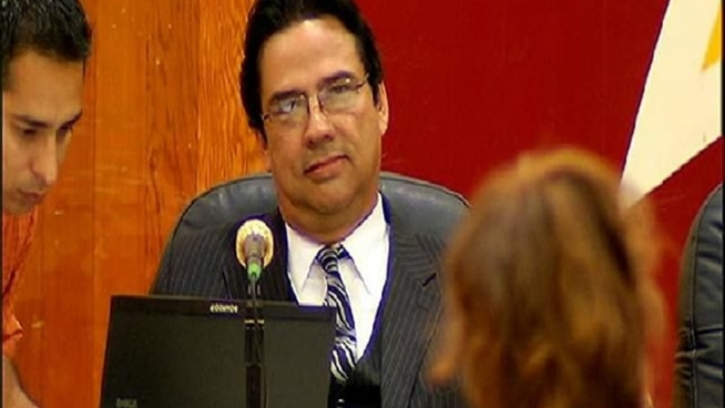 Dr. Jesus Gandara reached a mutual agreement Tuesday with the Sweetwater Union High School District to step down as superintendent, much to the approval of the hundreds in attendance at Southwest High School.