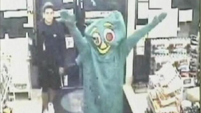 Gumby Robbers Turn Themselves In