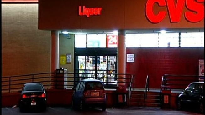 Three men made away with almost $100 in stolen alcohol at a CVS Pharmacy on North Park Way Thursday morning. Kelly McPherson reports.