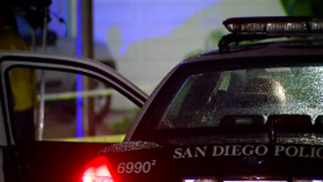 An SDPD officer shot a domestic violence suspect in Mira Mesa who allegedly posed a threat to police. The man was carrying a large rock and verbally threatening officers. NBC 7's Danya Bacchus reports.
