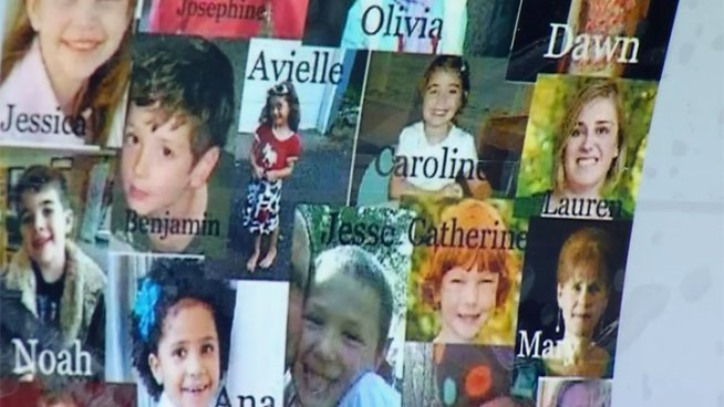 victims of the Newtown, Conn. shooting. NBC 7's Mari Payton reports
