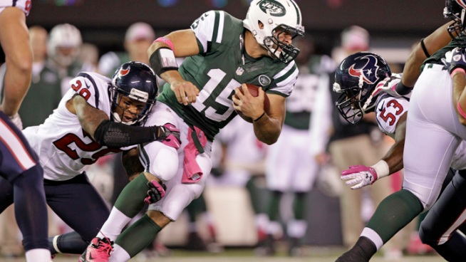 Foster Runs for 152 Yards as Texans Top Jets 23-17