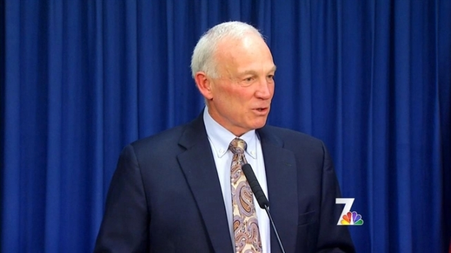 Mayor Jerry Sanders gave his last press conference on Wednesday and reflected about his time in office.