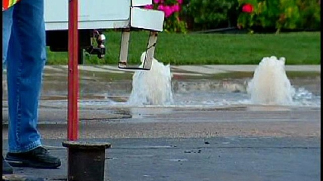 Water Pipe Break Affects Rolando Residents