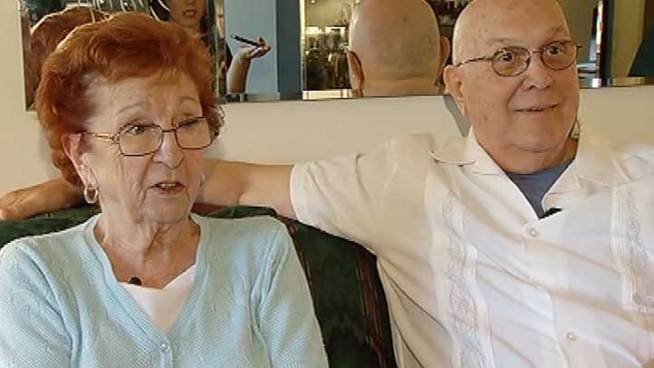 The couple has been together for more than 50 years.
