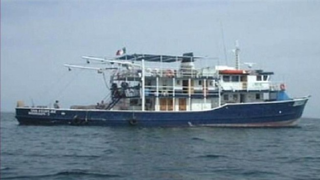 Boat Capsizes Off Mexican Coast