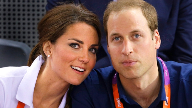 Prince William and Kate Middleton in Love