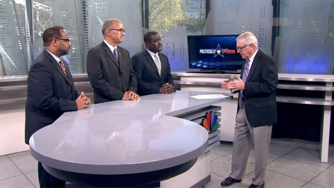 Dwayne Crenshaw, Barry Pollard and Bruce Williams joined Gene Cubbison on Politically Speaking to talk about what qualifies them to represent District 4.