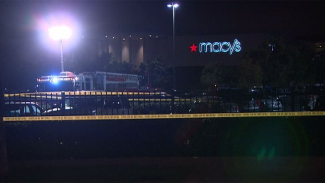 A man opened fire at Fashion Island, shooting 50 rounds in the air in a parking lot outside Macy's. Janet Kwak reports from Newport Beach for the NBC4 News at 11 p.m. on Saturday, Dec. 15, 2012.