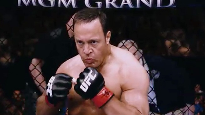 Kevin James stars as a teacher at a high school facing cuts to all its extracurricular activities, who takes it upon himself to raise money by taking up MMA fighting. Opens Oct. 12.