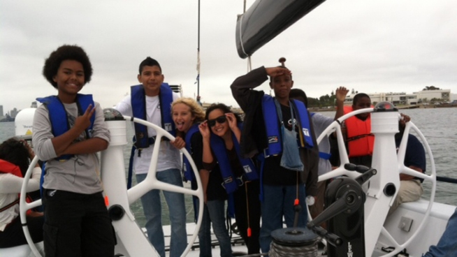 Summer Program Takes Inner-City Youth Sailing