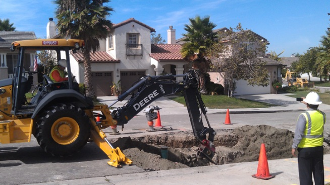 Chula Vista Sinkhole Prompts Water Problems
