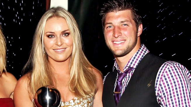 Lindsey Vonn: I'm Not Dating Tim Tebow