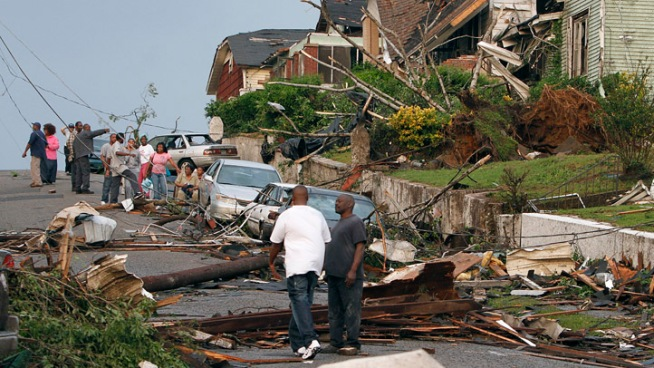 Death Toll Nears 200 as Tornadoes Slam South
