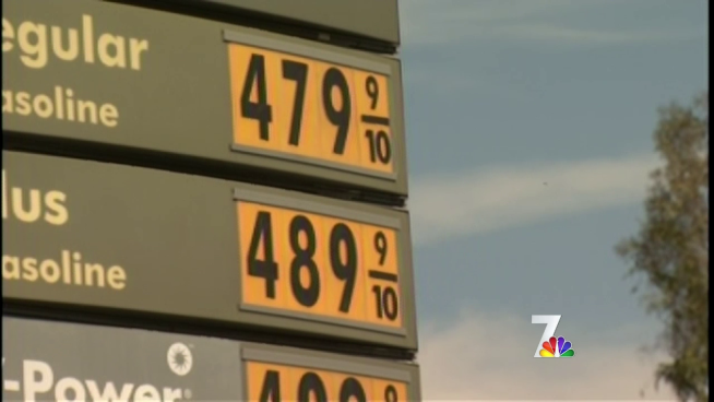 For San Diegans the average price per gallon went up another 20 cents overnight - drivers aren't waiting around to fill up. NBC 7 reporter Steven Luke talked to some frustrated drivers.