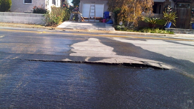 Water Main Breaks in South Park