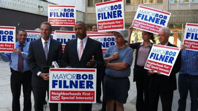 Council President Tony Young Endorses Filner