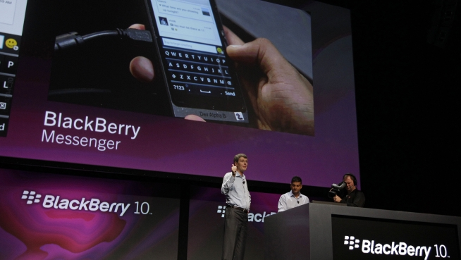RIM Changes Name to BlackBerry, Unveils 2 Phones