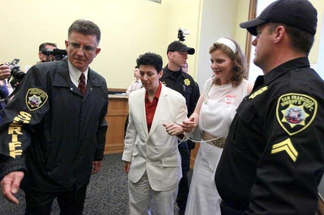 Gays Arrested After Demanding Marriage Licenses