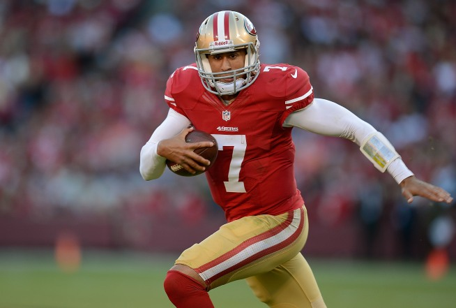 Kaepernick Shows 49ers He's Ready if Needed Against Bears