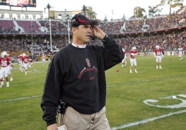 Stanford's Harbaugh Denies Uttering Big Gay Slur
