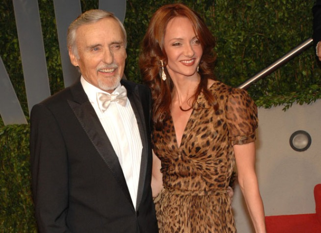 Dennis Hopper's Wife Asks for Custody in Divorce Filing
