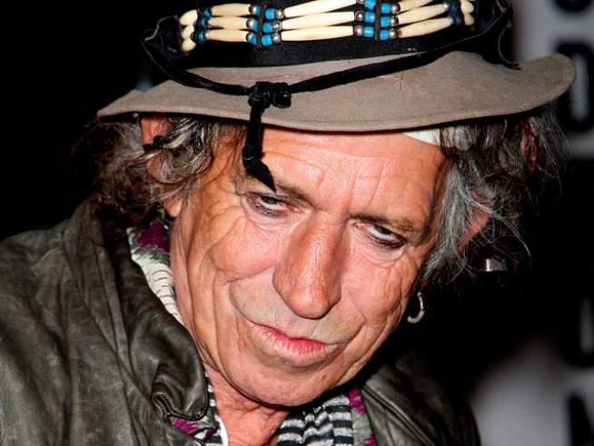 Keith Richards is Still Partying Hard