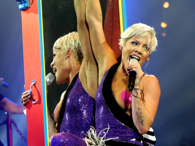 Pink: Working Out Mended My Broken Heart