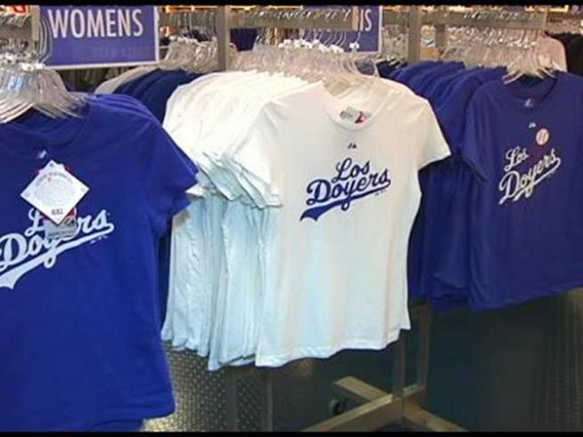 The Los Angeles Dodgers have trademarked the phrase