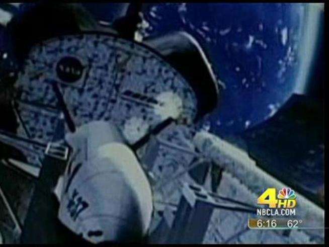 Early Friday morning, a secret Air Force plane will return from space.