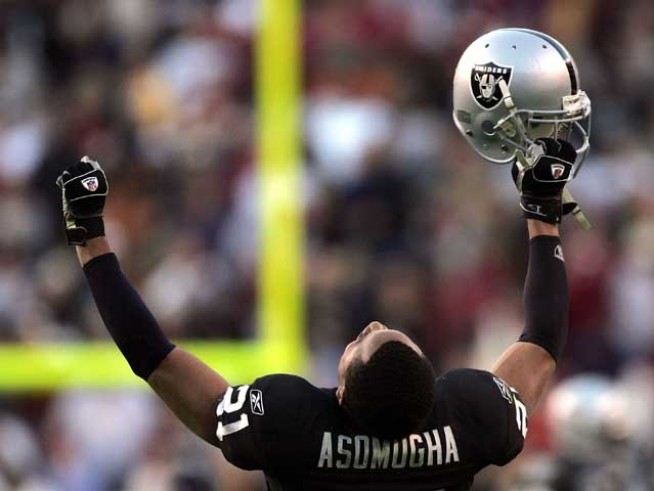Raiders' Asomugha Could Stay in the Division