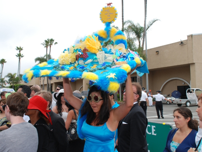 Del Mar Opening Day Hats - 2010