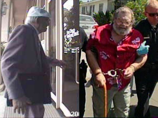 The Geriatric Bandits: Not Your Usual Suspects