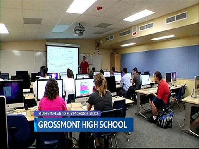 A non-profit investment club at Grossmont High School that studies financial news and trends hope to be the first to buy a piece of Facebook. NBC 7's Mark Mullen reports.