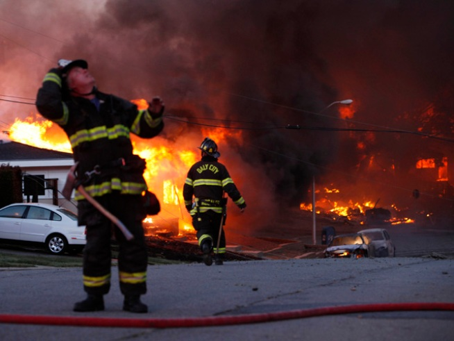 Dramatic Photos: Remembering the Fire