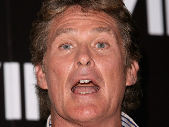 "David Hasselhoff Talks ""Rehab"" With Amy Winehouse's Dad"
