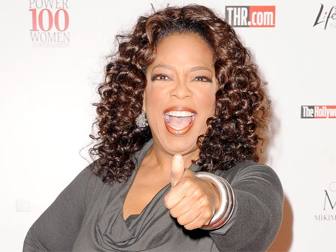 To Millions, Oprah's Not A Megastar, Just A BFF