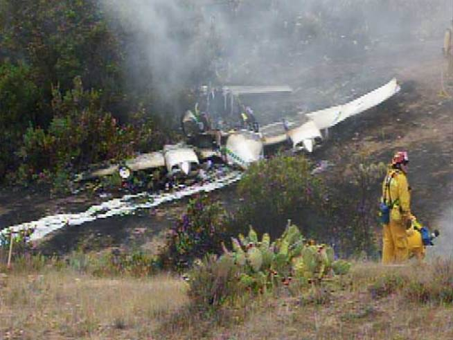 Three Injured in Catalina Island Plane Crash