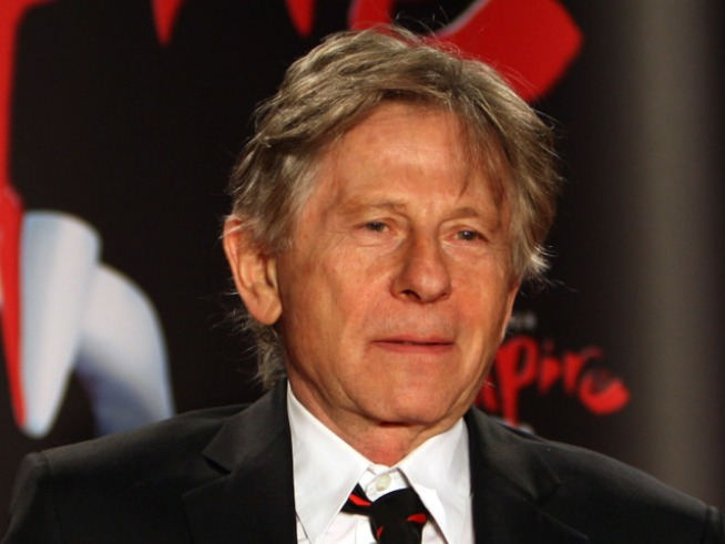 Roman Polanski Arrives at Alpine Chalet